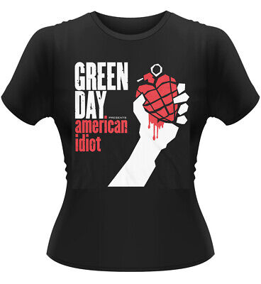 £13.99 • Buy Ladies Green Day American Idiot Punk Rock Official Tee T-Shirt Womens Girls
