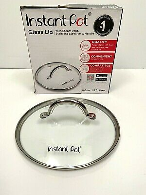 $12.99 • Buy Instant Pot Tempered Glass Lid 9 In. Replacement Parts 6 Quart Steam Vent New