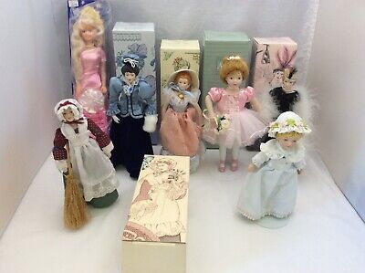 $ CDN39.99 • Buy Avon Porcelain Doll Collection Lot Of 7, Jenna, Fashion Dolls, 8-9inch Doll