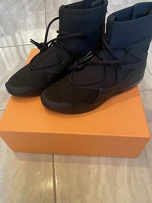 $429.99 • Buy Nike Air Fear Of God 1 Triple Black Mens US 12 DS. 100% Authentic