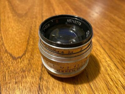 JUPITER-3 50mm F/1.5 Lens M39 Zorki FED Leica 35mm RF Camera 50/1.5 Sonnar 1979 • 149£