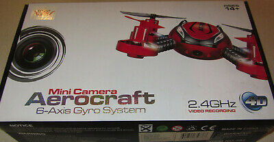 $5 • Buy Great 2.4 GHZ Mini Camera Aerocraft 6-Axis Gyro System Drone Red
