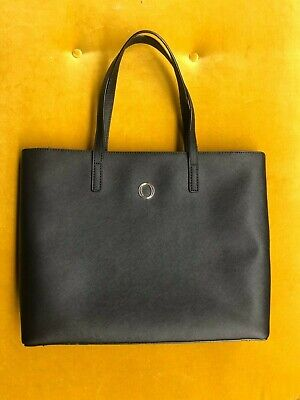 AU60 • Buy As New Oroton Metier Black Leather Tote