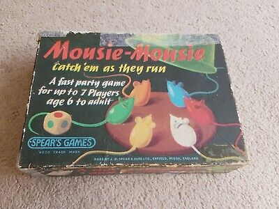 Vintage MOUSIE-MOUSIE Game By SPEARS GAMES - 1963  • 1.60£