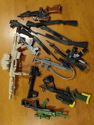 """$ CDN44.72 • Buy HUGE LOT Gi Joe & Others 12"""" Action Figure Accessory ALL Weapons + Lot#7 Sniper"""