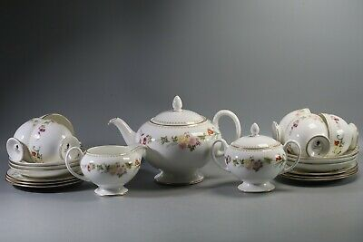 £130 • Buy Wedgwood Mirabelle Complete 21-piece Tea Set (6 Place Setting)