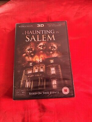 Brand New Sealed A Haunting In Salem DVD • 5£