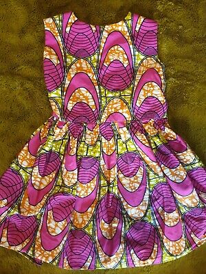 Pretty African Print Dress For Girls Age 3-4 Years • 5.50£