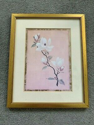Past Times Apple Blossom Picture Frame - VGC - Free Postage • 15£