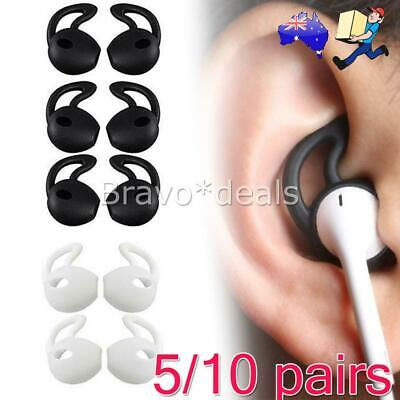 AU8.95 • Buy 5/10 Pairs Silicone Ear Hooks Skin Cover For Apple AirPods AirPod Headphones