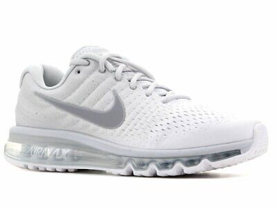 $169.97 • Buy Nike Air Max 2017 White Wolf Grey Platinum Men's Running Shoes 849559 009 ALL SZ