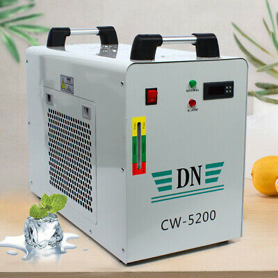 Cw-5200 Industrial Water Chiller Co2 Glass Laser Engraving Machine Dissipate Uk • 299.06£
