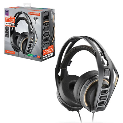 AU87.95 • Buy RIG 400 Pro HC Wired Gaming Headset For PC NEW