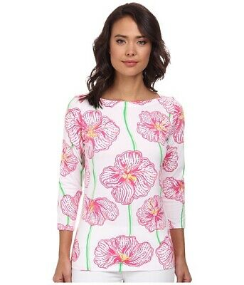 $42.95 • Buy Lilly Pulitzer Andie Top Clover Cup Size Large Nwt