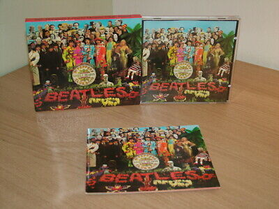 £14.99 • Buy The Beatles Sgt.peppers Lonely Hearts Club Band Slipcase Uk 1987