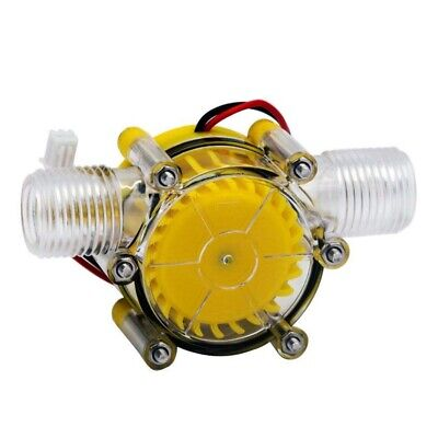 10W Water Flow Pump Mini Hydro Generator Turbine Flow Hydraulic Conversion 8 RHN • 6.99£