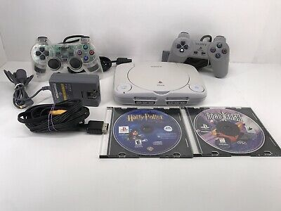 $49.99 • Buy Sony PSOne Console Lot With Classic Games Mini Playstation 1 PS1 Bundle SCPH-101