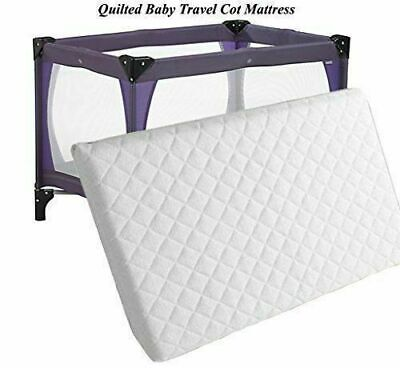 £16.85 • Buy Travel Cot Mattress For Graco,  Redkite And Mamas & Papas 95 X 65 X 5 Cm