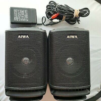 $39.98 • Buy Aiwa Sc-a70 Speakers Used Very Good