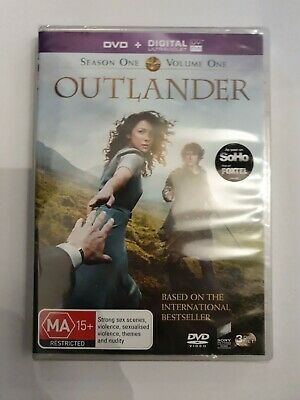 AU14.50 • Buy Outlander : Season 1 : Part 1 (DVD, 2015, 3-Disc Set)