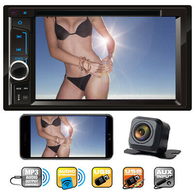 $131.29 • Buy For Ford Ranger 2 DIN 6.2  Bluetooth Touch Screen Car Stereo CD DVD Player Radio