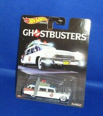 Collector Premium Movie Ghostbusters Hot Wheels Ecto-1 2019, New • 10.47£
