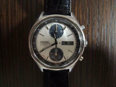$ CDN1946.76 • Buy Seiko 6138-8020 Chronograph Day Date Automatic Mens Watch Authentic Working