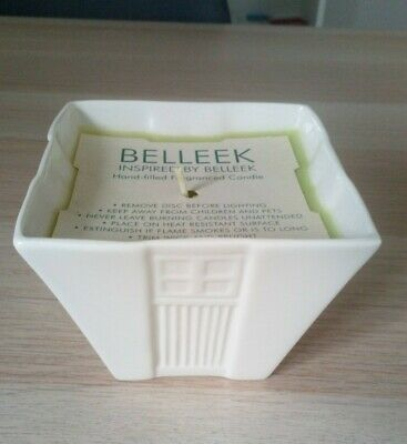 Belleek Living/ Belleek China Hand Filled Fragranced Candle- New • 3£