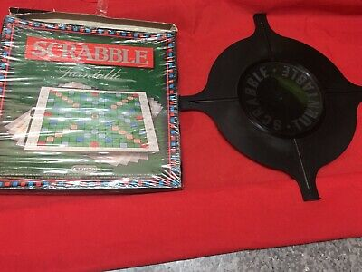 Spears Games Scrabble Board Game Turntable Boxed  • 0.99£
