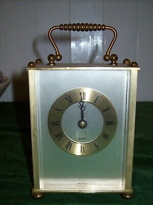 Vintage 'Acctim' Brass Carriage Clock With -Battery Operated Quartz Movement • 4.99£