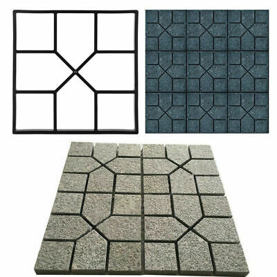 £10.95 • Buy Walk Maker Reusable Concrete Path Maker Molds Stepping Stone Paver Walkway Mould