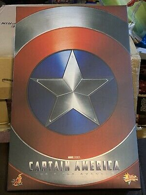 $525 • Buy Hot Toys Captain America The First Avenger Limited Ed. 1/6 Scale Figure MMS 156
