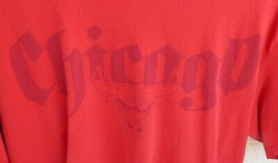 $ CDN24.35 • Buy Vintage Chicago Bulls NBA UNK T-shirt Size XL Jordan/Pippen