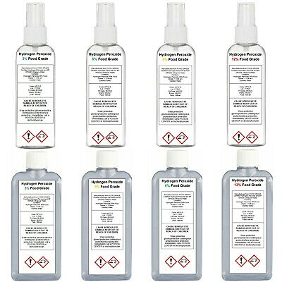 Hydrogen Peroxide 3% 6% 9% 12% V10 V20 V30 V40 Size 100ml SAME DAY DISPATCH 9am • 4.49£
