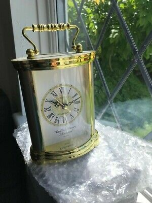 """Carriage Clock - Modern Quartz Movement. From The """"English Finery Collection"""". • 8£"""