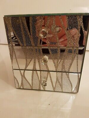 Mirrored Glass Chest Of Drawers Jewellery Box. Collect From London N5.  • 12£