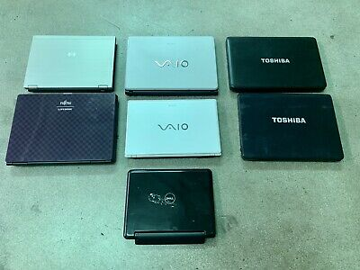 $ CDN302.89 • Buy Lot Of 7 Laptops AS IS For PARTS/REPAIR - HP, Dell, Sony Vaio, Toshiba, Fujitsu