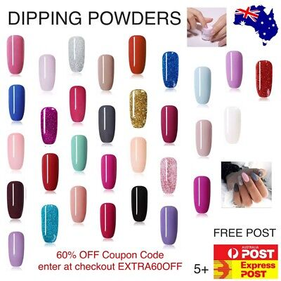 AU9.75 • Buy Nicole Diary Dipping Powder 10ml POT SNS Xmas Nail Art Colour Shimmer Manicure