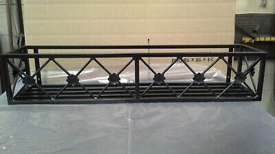 Metal/ Wrought Iron  Window Box Frames/ Planters/plant Pot Holder • 89.99£