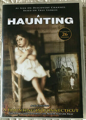A Haunting DVD Collection 8 Discs Excellent Condition • 39.99£
