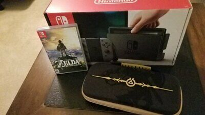 $280 • Buy Nintendo Switch With Case And Zelda: Breath Of The Wild Game.