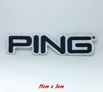 Ping Golf Title Embroidered Iron On Sew On Patch #170 • 1.89£