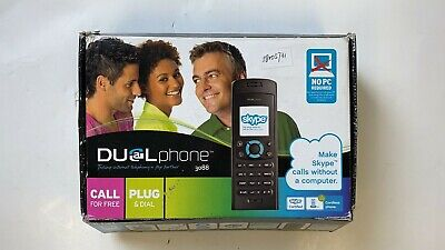 Dual Phone Skype Cordless Phone Model RTX 3088 EU-calls Without PC • 35.35£