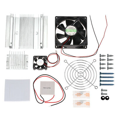 £13.76 • Buy DIY Thermoelectric Peltier Refrigeration Cooling System Kit Semiconductor G1F0