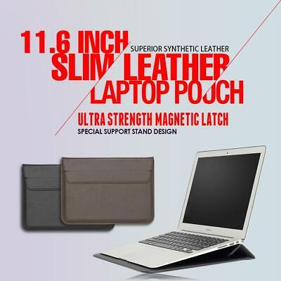 AU14.39 • Buy Bag For 11.6 Inch Slim Leather Notebook Laptop Sleeve Case Cover Pouch