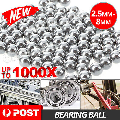 AU8.50 • Buy Steel Loose Bearing Ball Replacement Parts 2.5-8mm Bike Bicycle Cycling Stainles