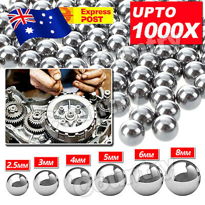 AU6.95 • Buy Replacement Parts 2.5-8mm Bike Bicycle Steel Loose Bearing Ball Cycling Stainles