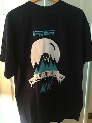 $10.97 • Buy Krispy Kreme Kalispell Montana T- SHirt Adult XL New 100% Cotton