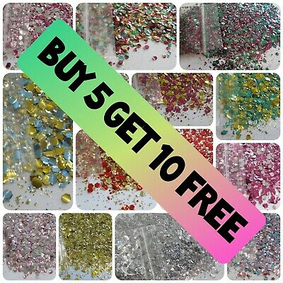 £1.79 • Buy Biodegradable Glitter Festival Chunky Mix Eyes Face Hair Nails BUY 5 GET 10 FREE