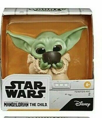 $2.25 • Buy Star Wars Mandalorian Bounty Collection Baby Yoda SIPPING FROM A CUP